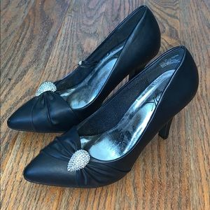 IT'S OK formal stiletto high heels black 6M
